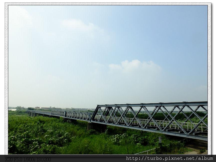 虎尾糖廠百年鐵橋,四階段不同設計是特色