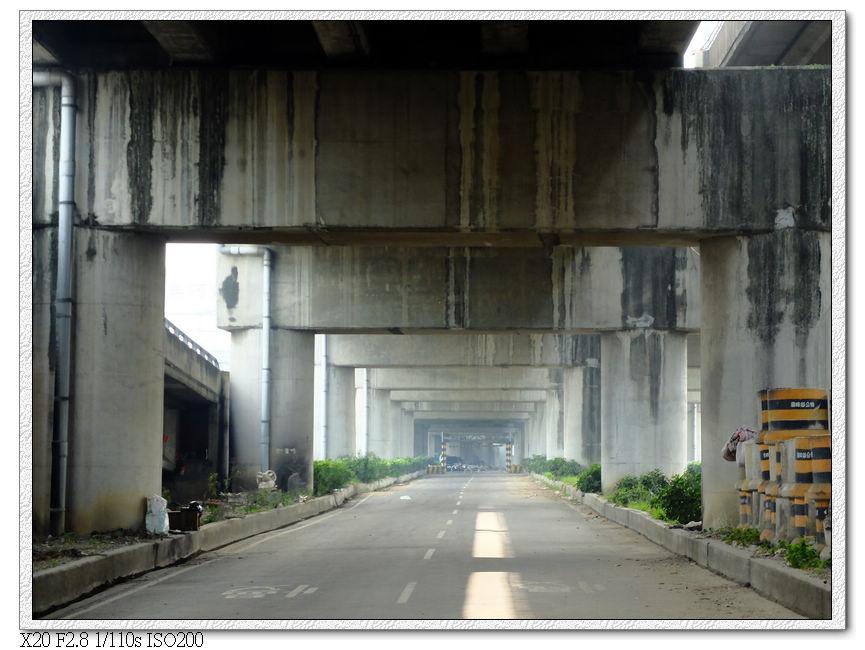 大里溪橋下