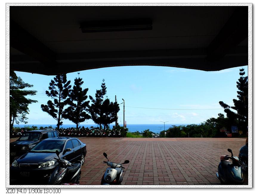 從站內就可以看到海岸
