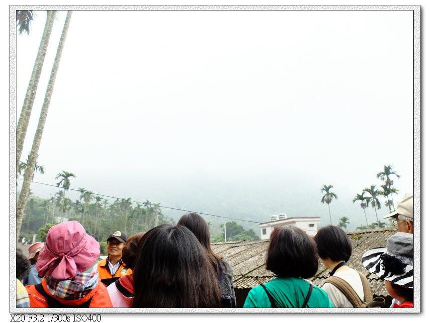 本來可以看火車獨立山迴旋,霧太大只聽到氣笛聲看不到火車