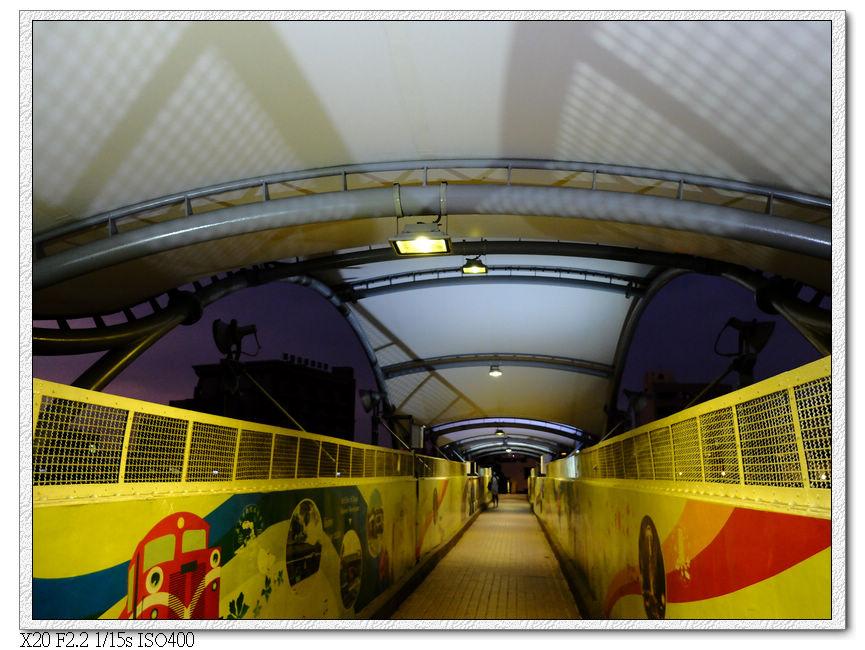 通往後站的天橋