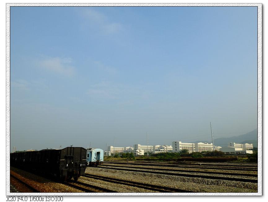 加祿火車站站場