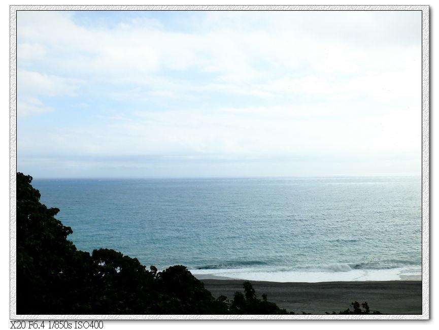 這段離太平洋很近