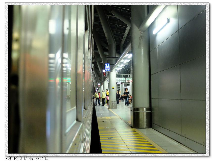 19:34 到達屏東火車站