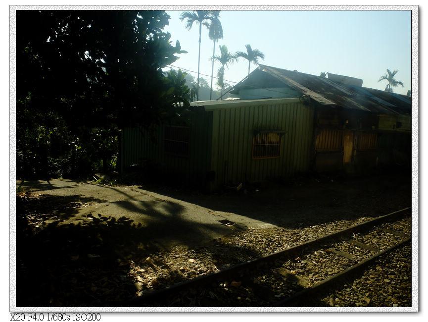 經過木屐寮車站 離嘉義189.9km,海拔324m