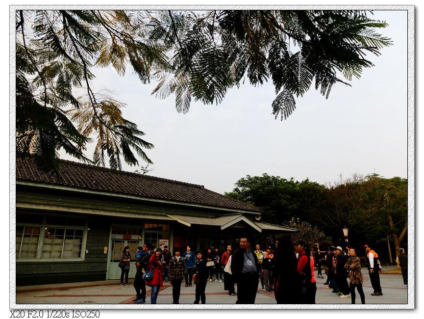 站前廣場很大的北門火車站