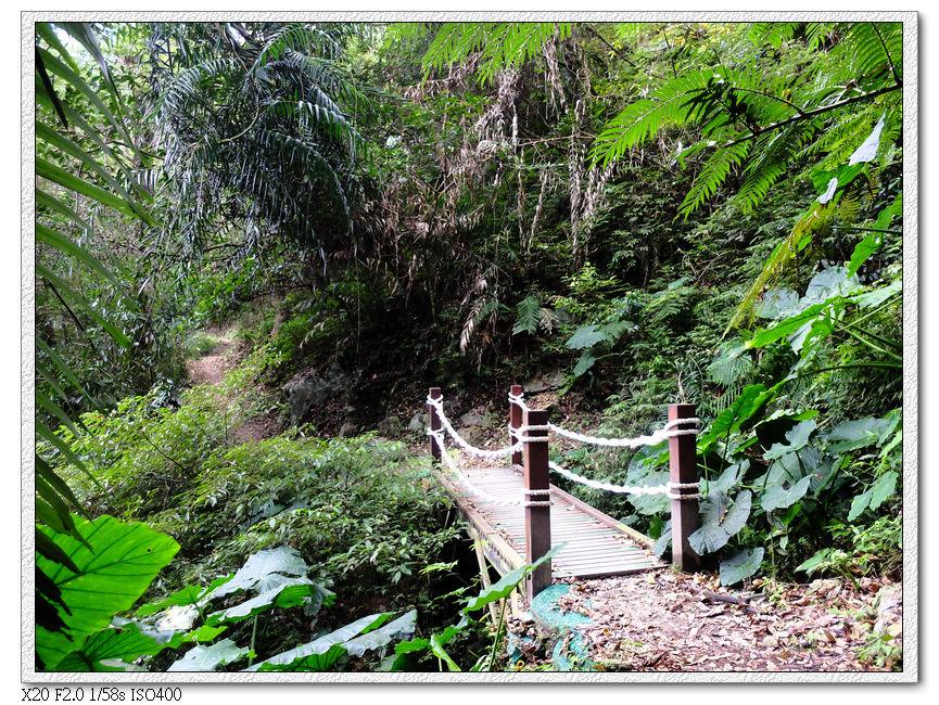 第一段小木橋