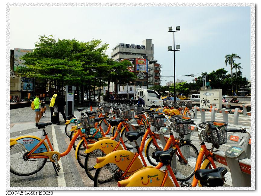 彰化火車站前U-bike