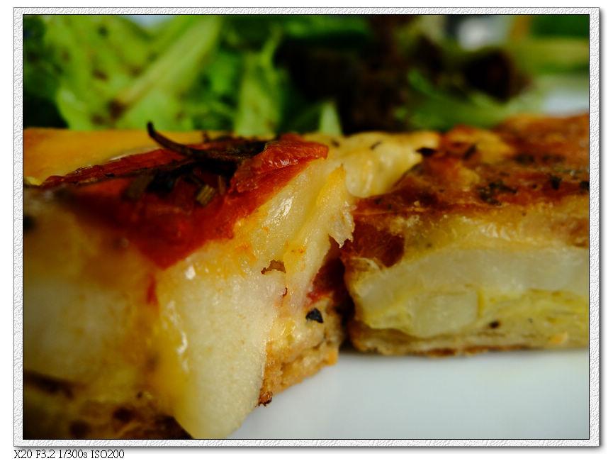 綠萼春風-法式鹹派套餐