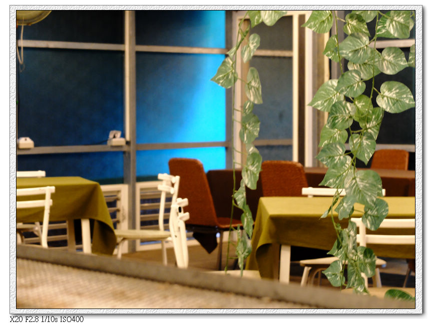 綠萼春風-室內座位區
