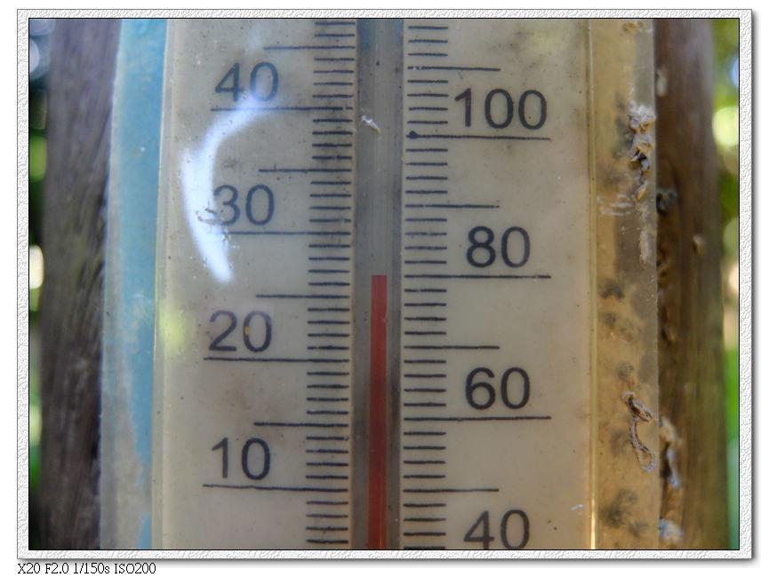 26度就覺得很熱了