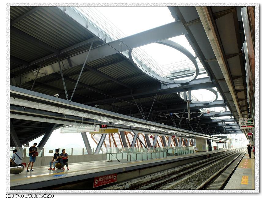 太原火車站月台
