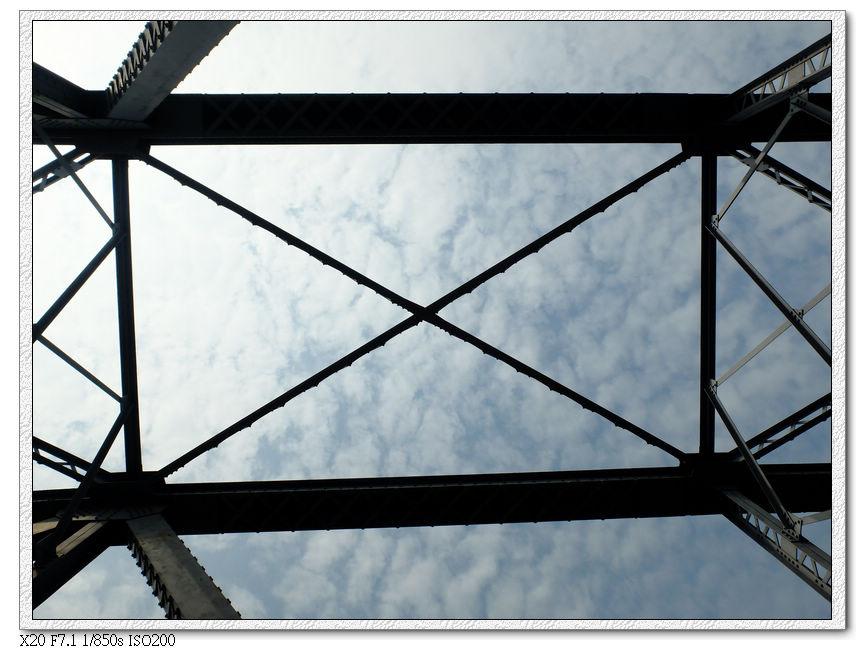 大甲溪花鋼樑橋