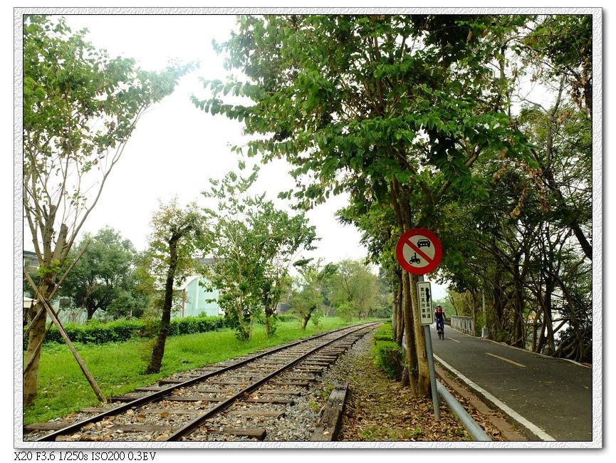 靠近終點,又看見了鐵軌