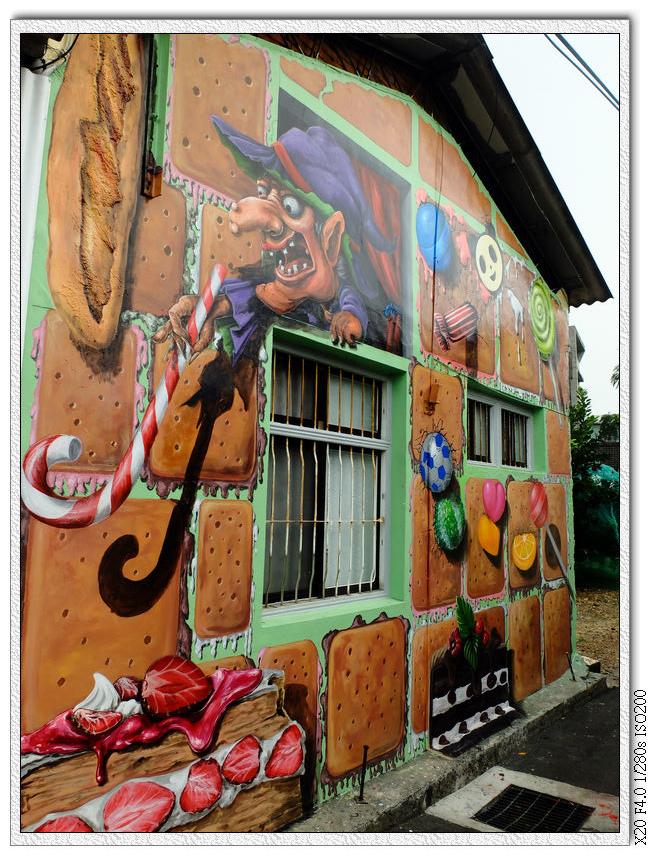 九房社區童話彩繪起點-1糖果屋