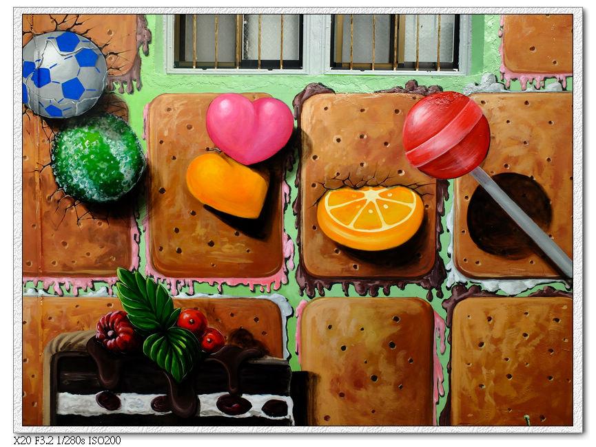 九房社區童話彩繪-1,糖果屋