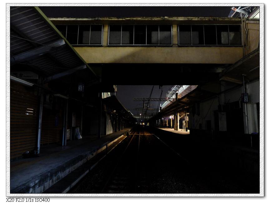 廢棄的豐原舊火車站