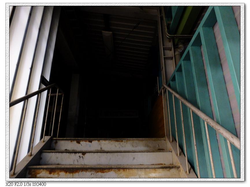 廢棄的豐原舊火車站,其實這個出口還是不久前才完工開放的