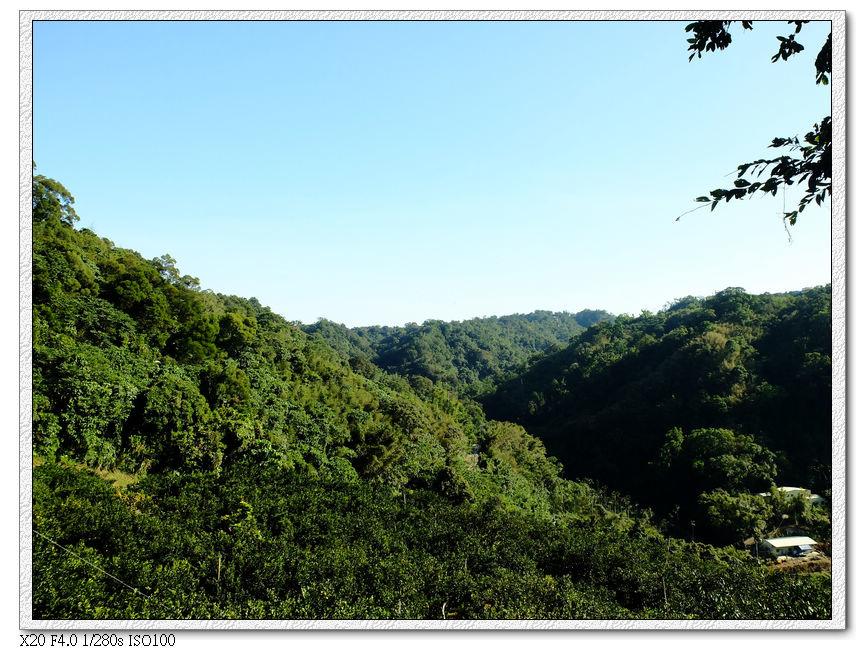 左手邊的山谷