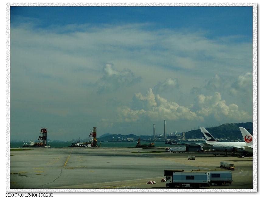 香港機場轉機