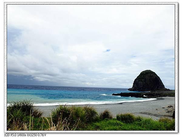 蘭嶼國小前海岸