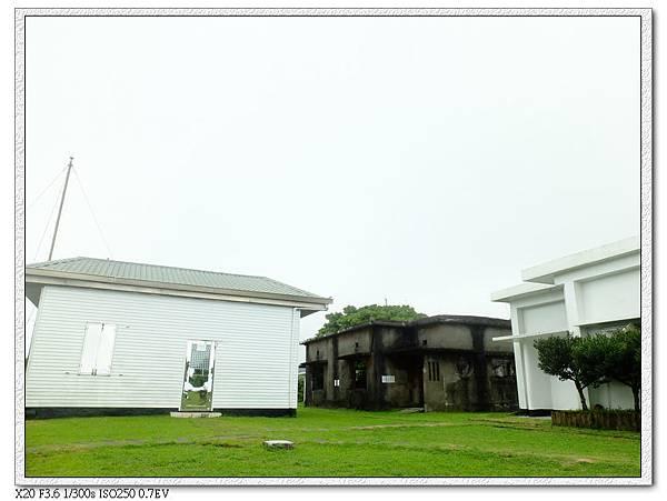 蘭嶼氣象局遊客禁止入內,我比較好奇裡面那棟明顯比較有年紀的