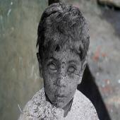 Photoshop - 人體雕像效果:被詛咒的美杜莎