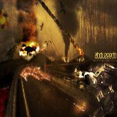 Photoshop -龍與機器人的攻擊