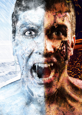 Photoshop - 冰凍與燃燒