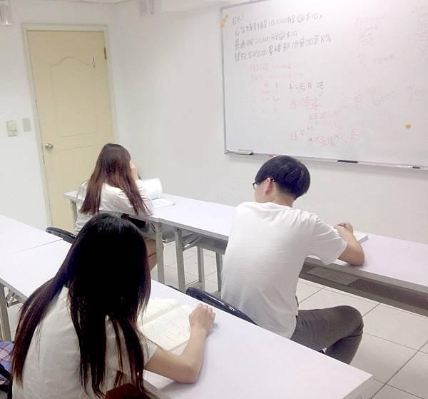 高中高職五專補習班上課