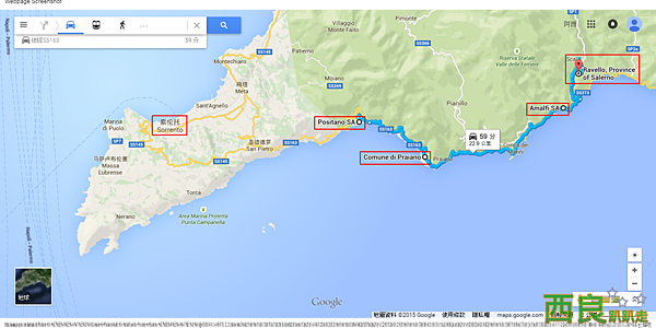 Positano SA, 義大利 至 Ravello, Province of Salerno, 義大利 - Google 地圖.png