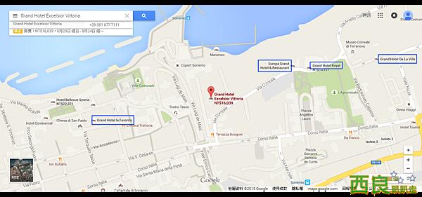 Grand Hotel Excelsior Vittoria - Google 地圖.png