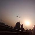 一顆太陽+路燈