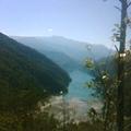 縮水中的湖