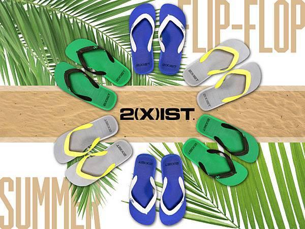 2(X)IST【海灘鞋新品上市】高級材質久穿也不累!限量發售中