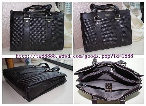 GUCCI真皮包包 電腦公文包 手提包 精品包包 黑色啡色可選  售價:台幣$3500元.jpg