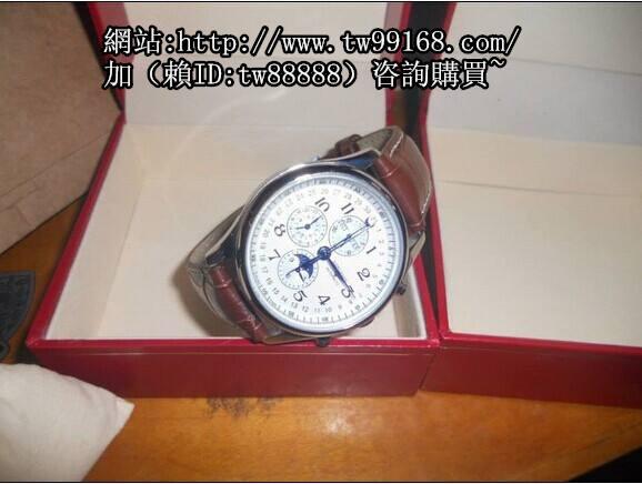浪琴 名匠系列 8針 白 機械錶