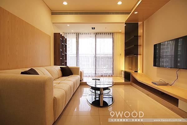 【自然休閒】八德-洪瑞群英-九木系統家具|中古屋裝潢 新婚裝潢 青年首購 收納規劃 收納方式|