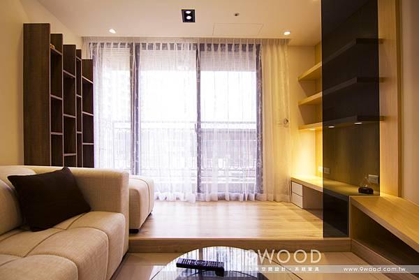【自然休閒】八德-洪瑞群英-九木系統家具|新成屋裝潢 新婚裝潢 青年首購 收納規劃 收納方式|