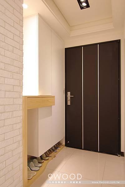 【自然休閒】八德-洪瑞群英-九木系統家具|玄關 玄關設計 玄關風格 玄關裝潢 玄關風水 玄關顏色 玄關收納 |