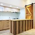 【南法鄉村】台北士林-36年公寓舊翻新 |九木空間設計 系統家具|空間設計 住宅設計 室內裝修 室內裝潢 裝潢設計 系統家具 系統櫥櫃|