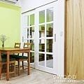 【南法鄉村】台北士林-36年公寓舊翻新 |九木空間設計 系統家具