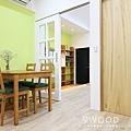 【南法鄉村】台北士林-36年公寓舊翻新 |九木空間設計 系統家具|舊翻新 老宅翻修 新婚裝潢 青年首購 收納規劃 收納方式|