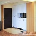 【現代鄉村】桃園南崁-君璽 |九木室內裝潢 系統家具|玄關 玄關設計 玄關風格 玄關裝潢 玄關風水 玄關顏色 玄關收納|