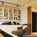 【現代鄉村】桃園南崁-君璽 |九木室內裝潢 系統家具|新成屋裝潢 新婚裝潢 青年首購 收納規劃 收納方式|