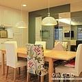 【現代鄉村】桃園南崁-君璽 |九木室內裝潢 系統家具|茶鏡 明鏡 灰鏡 黑鏡|玻璃 烤漆玻璃 烤玻 灰玻 黑玻 清玻璃|