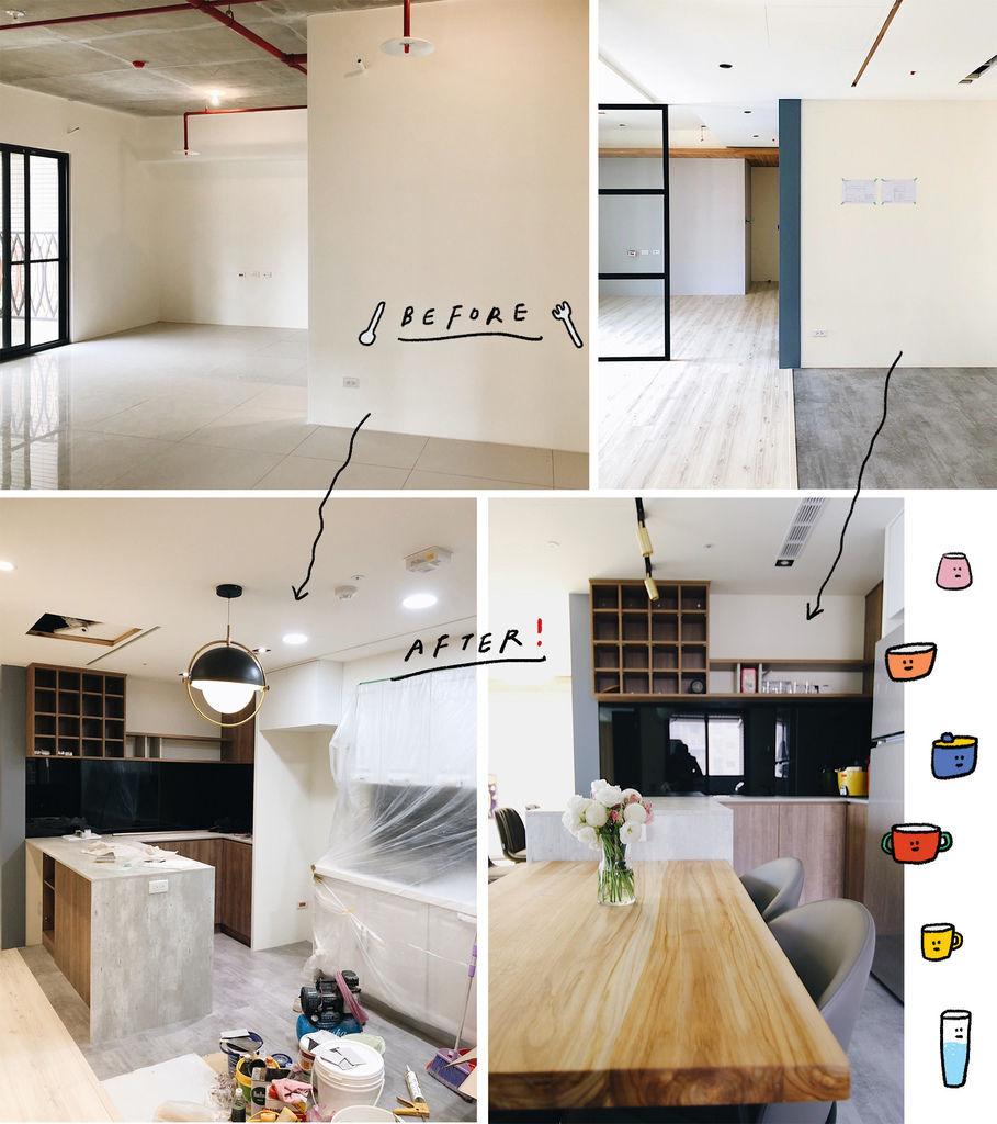 中島設計 中島廚房 中島櫃設計 中島廚房設計