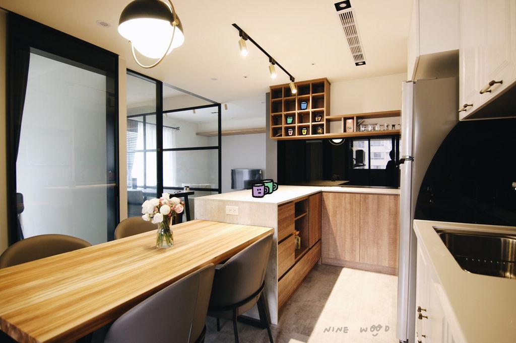 中島收納 中島廚房 中島廚房設計