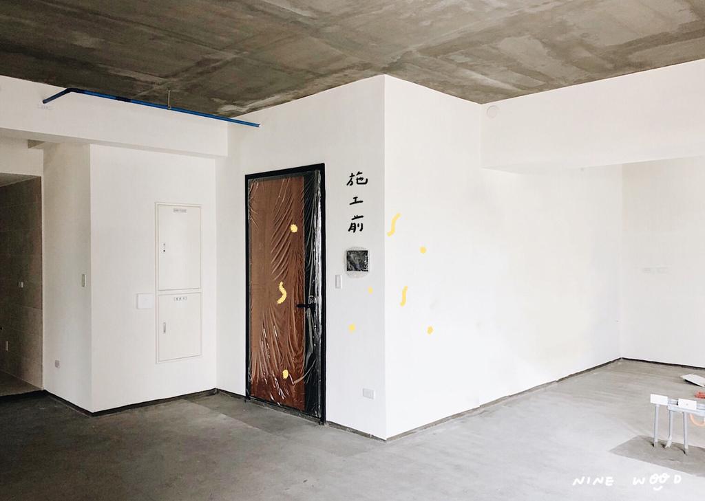 施工前 玄關設計 室內設計