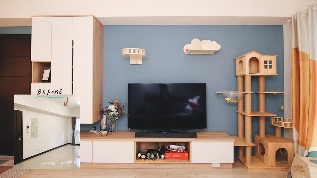 電視牆無印北歐風 無印風 無印室內設計 簡約北歐風 北歐風室內設計 簡約室內設計   黑白灰室內設計|小住宅設計 小住宅平面圖 小住宅案例 小住宅案例分析